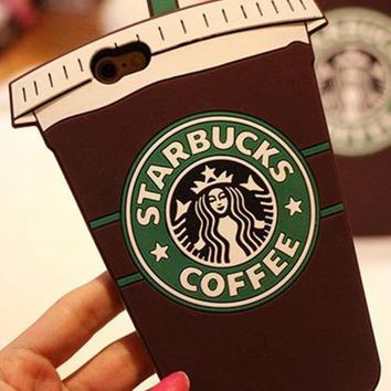 Starbucks Fashion Coffee iPhone Phone Cover Case For iphone 6 6s 6plus 6s-plus 7 7plus 8 8plus