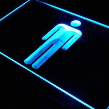 Male Mens Restroom Neon Sign (LED)