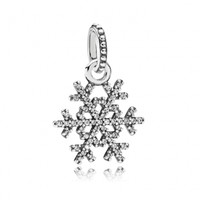 Winter_Kiss Pendant, Snowflake, Winter, Holiday, Snow_Flake, PANDORA - Pandora Mall of America, MN