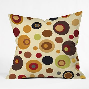 Viviana Gonzalez Vintage Colorplay 1 Throw Pillow