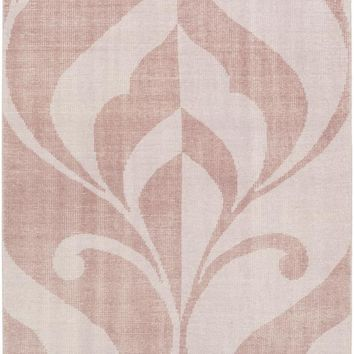 Surya Paradox Medallions and Damask Purple PRX-1001 Area Rug