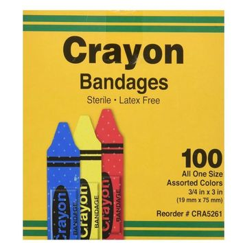 Crayon Shaped Bandages
