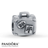 Pandora Charm Suitcase Sterling Silver