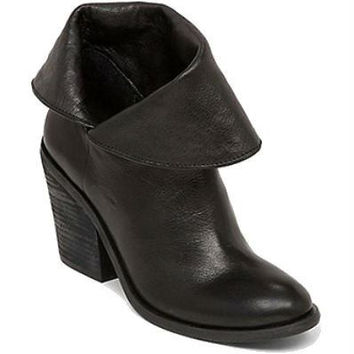 Lucky Brand 'Ethann' Foldover Shaft Leather Bootie