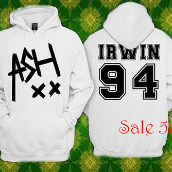 5 Secon Of Summer Ashton Irwin  Availabel Gildan Sweatshirt Hoodie  Unisex Screenprint