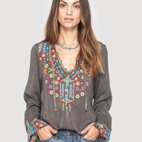 Johnny Was | Ditsy Flower Blouse - New Arrivals - Clothing