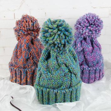 Gorgeous High-Quality Pom Pom Beanies, Hats, Skullies, Gorro, WARM!