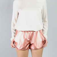 Lucca Couture Metallic Shorts