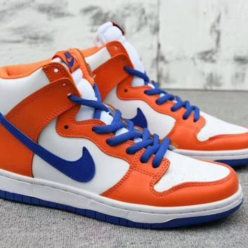 nike sb dunk high trd qs danny supa unisex sport casual fashion high help plate shoes couple sneakers