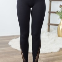NikiBiki Mesh Leggings- Black