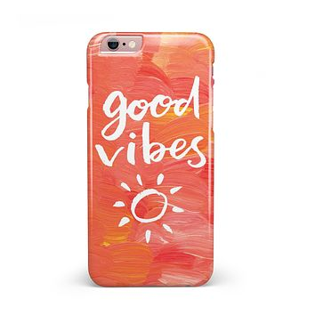 Good Vibes iPhone 6/6s or 6/6s Plus INK-Fuzed Case