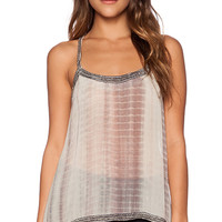 Raga Aphrodite Tank in Tan