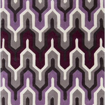 Surya COS9178 Cosmopolitan Purple Rectangle Area Rug