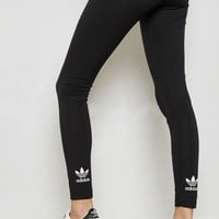 adidas Originals adicolor Trefoil Leggings In Black