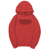 Stranger Things Red Hoodie