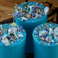 BLUE LAGOON Soy Candles