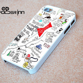 Paper towns John Green iPhone 4s iphone 5 iphone 5s iphone 6 case, Samsung s3 samsung s4 samsung s5 note 3 note 4 case, iPod 4 5 Case