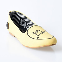 Yellow Hello Sunshine Sonia Loafers