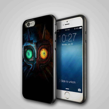 Legend of Zelda Majora Mask Cover, iPhone 4/4S, 5/5S, 5C Series Hard Plastic Case