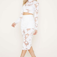 Rise Of Dawn Floral Crop Top | Forever 21 - 2000169980