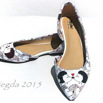 Hedge Over Heels- Hedgehog Flats- Wedding-Prom-Homecoming Gift for her