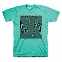 Wave Square T-shirt - All Products