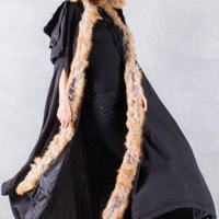 Punk Rave | Freyja Viking Cloak Black