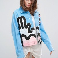 Typical Freaks Art Jacket at asos.com