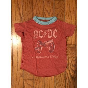 Infant/toddler band t-shirt AC/DC