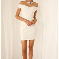 Party dresses > LITTLE JAGGED DRESS