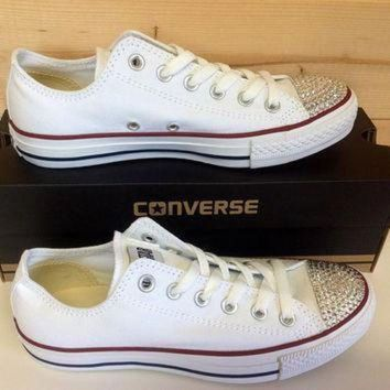 DCCK1IN swarovski crystal converse chuck taylor shoes super cute handmade great gift or item f