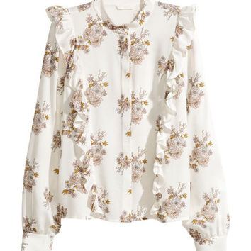 H&M Patterned Blouse $29.99