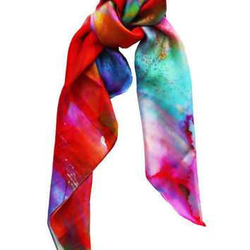 Dreaming Silk Scarf