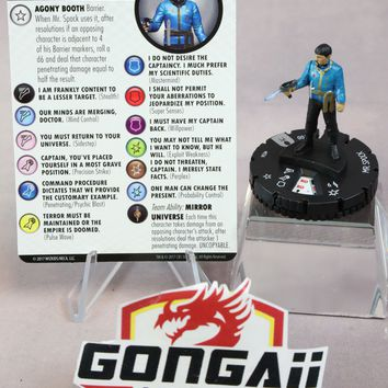 Heroclix Star Trek: Away Team set Mr. Spock #036 Rare