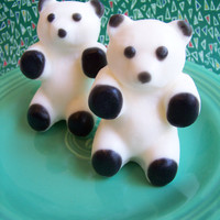 Lime Panda Bear Soap by LoveLeeSoaps on Etsy
