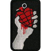 Green Day American Idiot Iron-On Patch