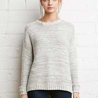 Heathered Rib Sweater