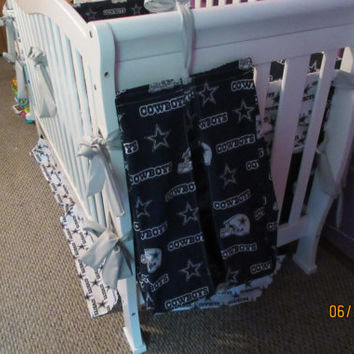 Dallas Cowboys Crib Bedding 6 Pc Set