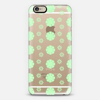 Mint Blossoms iPhone 6 case by Lyle Hatch | Casetify