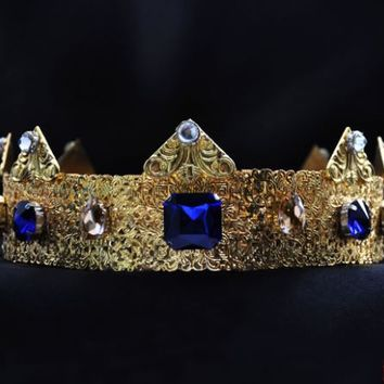 ORFEO - GOLD Dolce Male Crown For Royal King