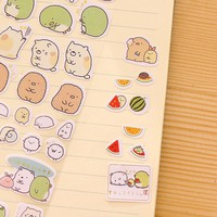 1pc lovely cute potato sticker diary scrapbooking kawaii  Decorative Decors Album post it kawaii stationery toy for kids