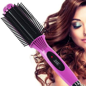 Iconic Beauty 2 in 1 hair straightener and curling iron