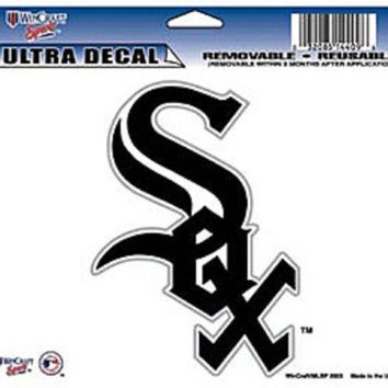 "Chicago White Sox Removable 5""x6"" Car Decal"