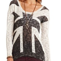UNION JACK PULLOVER SWEATER