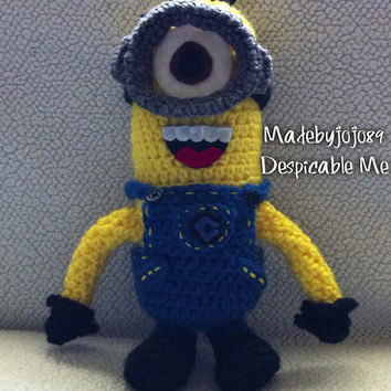 Despicable Me Minion crochet plush
