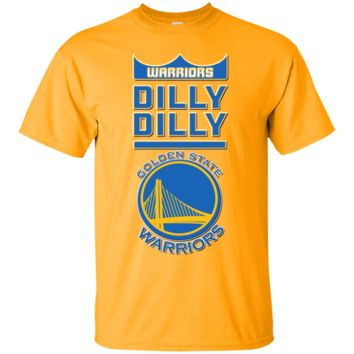 GOLDEN STATE WARRIORS : NBA : DILLY DILLY : Cotton T-Shirt