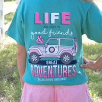 Jadelynn Brooke The Jeep Life - Sea Foam - SS