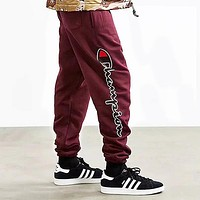 Champion Woman Men Fashion Pants Trousers Sweatpants