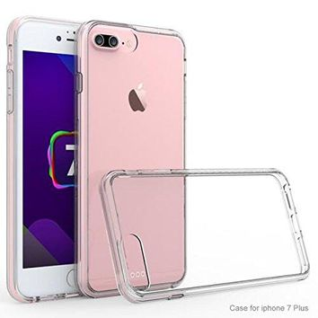 Apple iPhone 8 Plus Case, Easy Grip Slim Armor Bumper Case for iPhone 8 Plus  - Clear