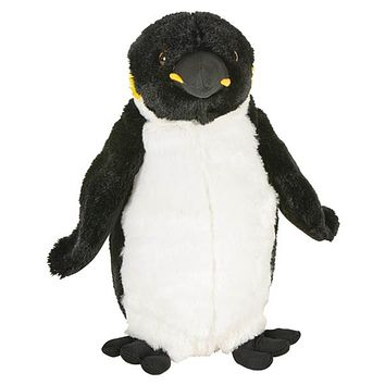 8 Inch King Penguin Stuffed Animal Plush Floppy Ocean Species Collection